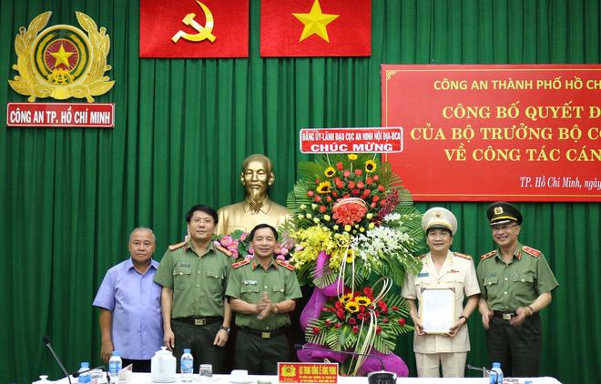 Đại tá Nguyễn Sỹ Quang giữ chức Phó Giám Đốc Công an TPHCM - Ảnh 1.