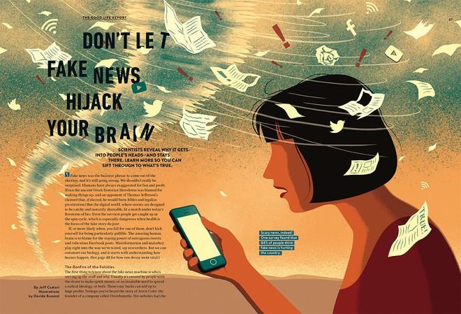 Fake News: Chúng đầu độc não bộ của chúng ta như thế nào và đây là cách để tránh - ảnh 1