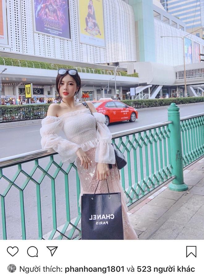 Rộ tin thiếu gia Phan Hoàng Có tình mới sau 20 ngày chia tay, thả tim ảnh người đẹp đều như vắt chanh - ảnh 7