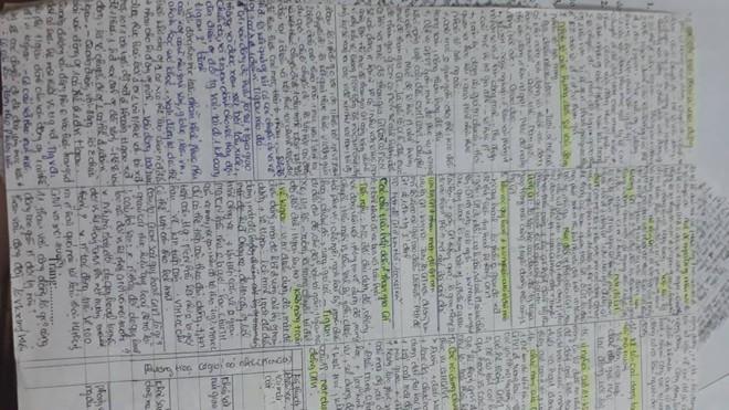 Giáo viên cho mang 1 tờ giấy ghi kiến thức vào phòng thi, sinh viên chép sương sương cũng được cả quyển sách! - ảnh 2