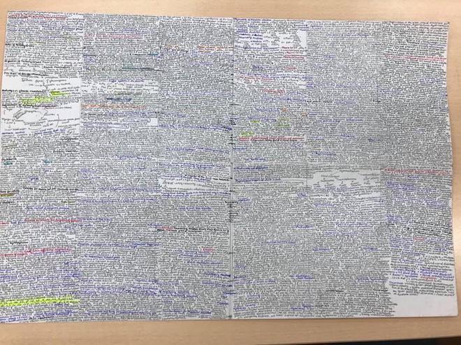 Giáo viên cho mang 1 tờ giấy ghi kiến thức vào phòng thi, sinh viên chép sương sương cũng được cả quyển sách! - ảnh 5