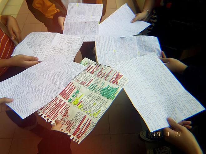 Giáo viên cho mang 1 tờ giấy ghi kiến thức vào phòng thi, sinh viên chép sương sương cũng được cả quyển sách! - ảnh 7