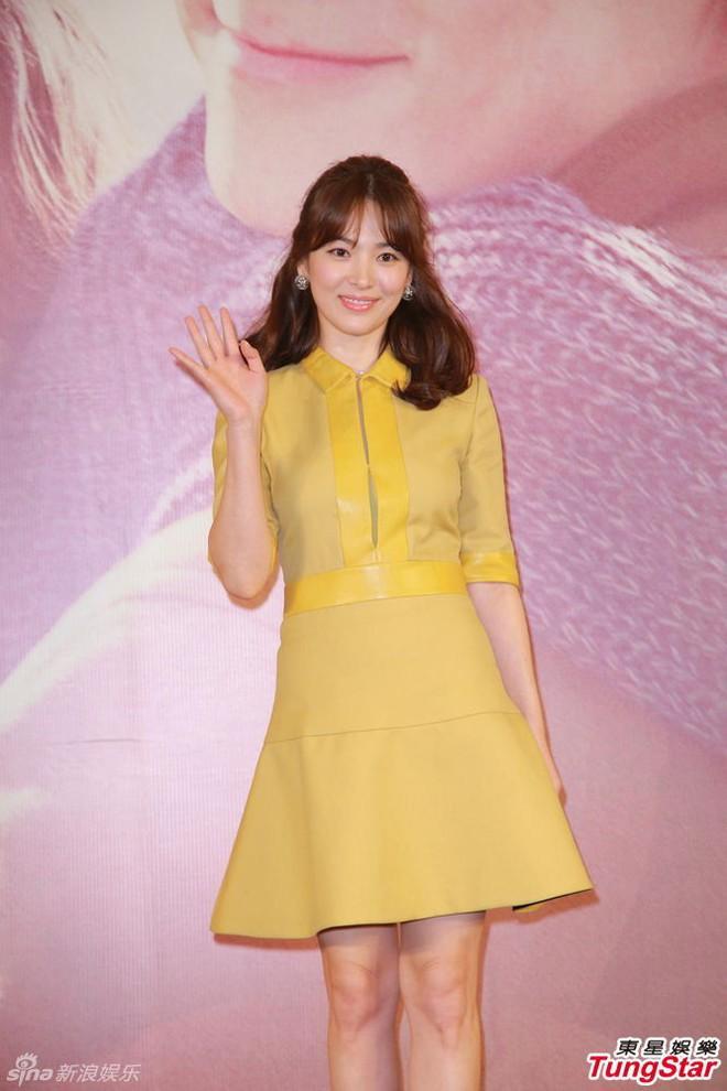 Mong có một ngày, Song Hye Kyo chinh phục thành công gam màu vàng chứ hiện tại thì lần nào mặc cũng mắc lỗi - ảnh 5