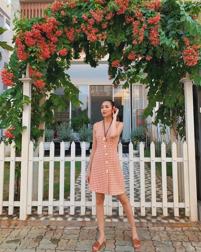 Kỳ Duyên tình ấm mặn nồng bên Minh Triệu, Hà Tăng diện váy sát nách đương đầu với nắng nóng trong street style tuần này - ảnh 4