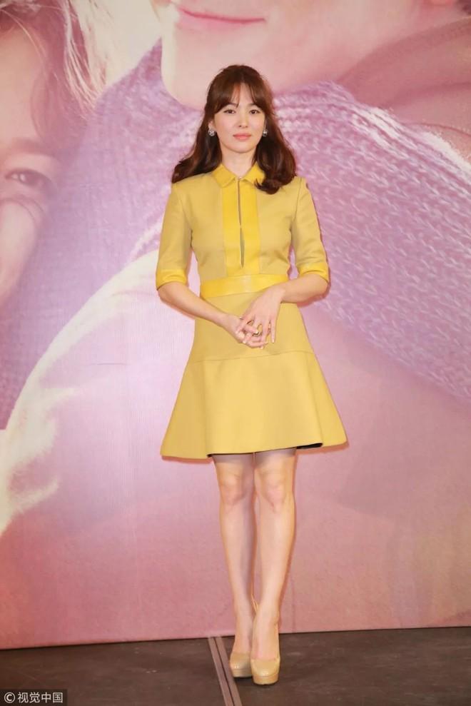 Mong có một ngày, Song Hye Kyo chinh phục thành công gam màu vàng chứ hiện tại thì lần nào mặc cũng mắc lỗi - ảnh 6