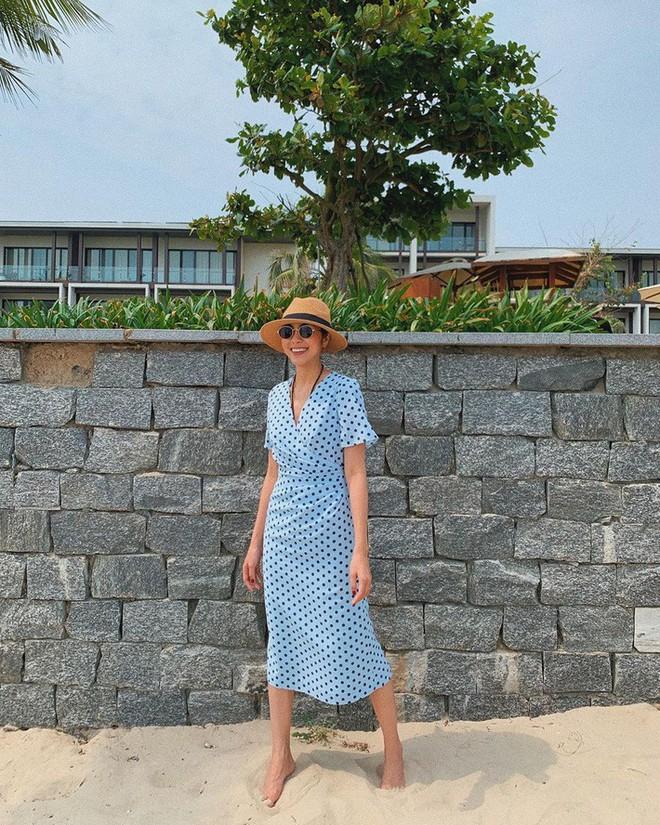 Kỳ Duyên tình ấm mặn nồng bên Minh Triệu, Hà Tăng diện váy sát nách đương đầu với nắng nóng trong street style tuần này - ảnh 5