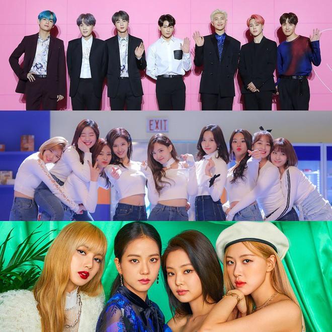 So sánh hit mới của TWICE, BLACKPINK, BTS trên các BXH âm nhạc: Lép vế nhất là ai? - ảnh 1