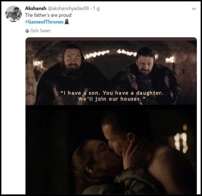 Khán giả xem Game of Thrones chỉ quan tâm màn mây mưa của Arya, bất chấp cuộc chiến kinh điển sắp tới - ảnh 10