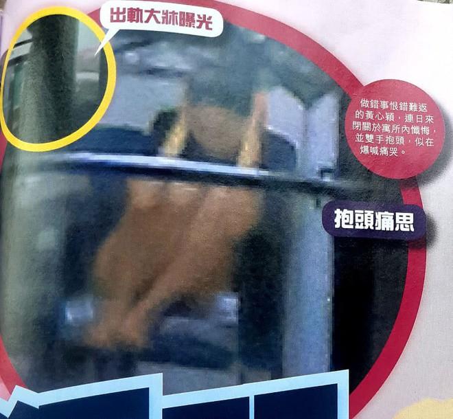 Á hậu lẳng lơ nhất Hong Kong Huỳnh Tâm Dĩnh sau scandal: Trốn biệt trong nhà, khóc lóc suy sụp tinh thần - ảnh 3