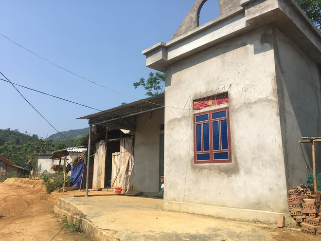 Căn nhà nhỏ nơi nữ sinh H. sống cùng gia đình
