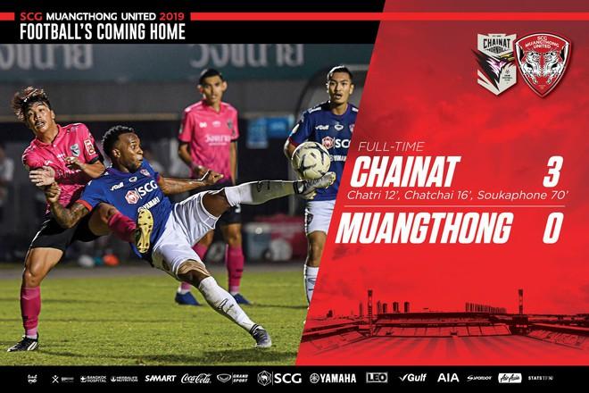 Văn Lâm 3 lần bị thủng lưới, Muangthong rơi vào nhóm xuống hạng - ảnh 2