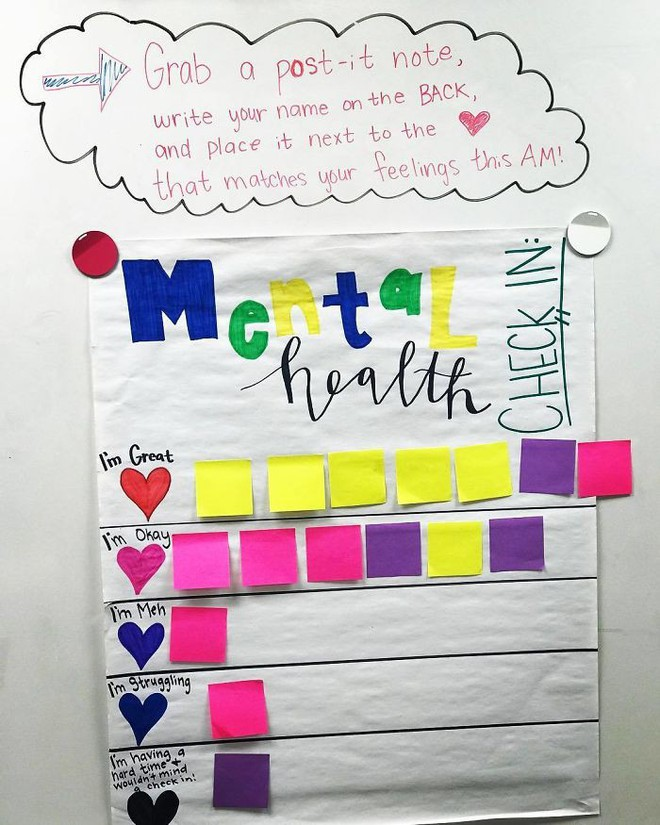 Cô giáo sáng tạo ra chiếc bảng check-in cảm xúc giúp đỡ học sinh thoát khỏi trầm cảm và tự tử - ảnh 6