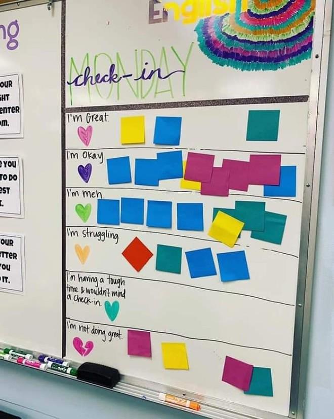Cô giáo sáng tạo ra chiếc bảng check-in cảm xúc giúp đỡ học sinh thoát khỏi trầm cảm và tự tử - ảnh 7