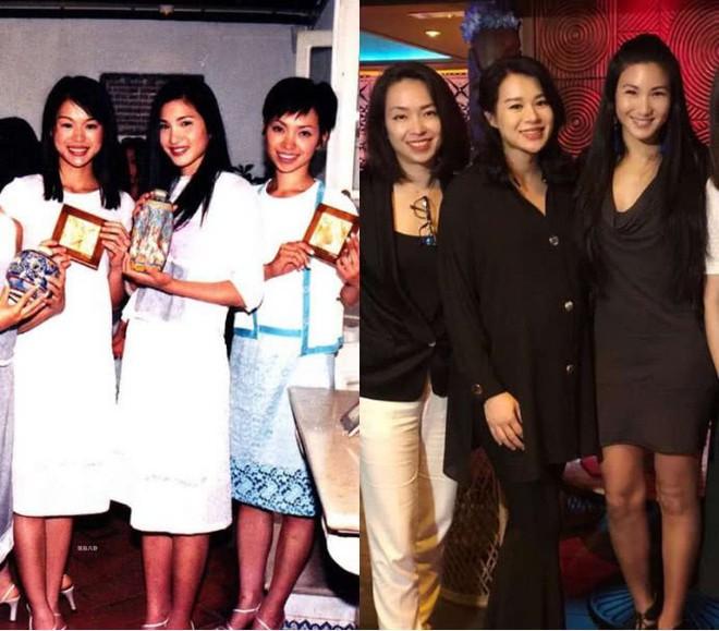 Hồ Hạnh Nhi vác bụng bầu tụ tập chị em Hoa hậu, ai mà ngờ nhan sắc nhạt nhoà khi xưa giờ lại nổi bật nhất - Ảnh 2.