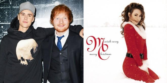 """Dù bị chê nhạt nhẽo, màn hợp tác giữa Justin Bieber và Ed Sheeran vẫn """"đánh bại"""" kỷ lục khủng của Mariah Carey - Ảnh 2."""