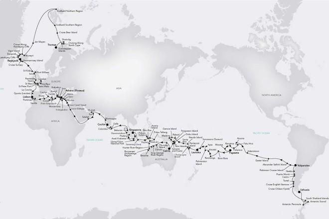 Tour du lịch chỉ dành cho những ai nhiều tiền: Khám phá toàn bộ thế giới trong 167 ngày - ảnh 1