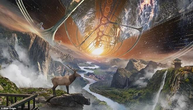 Ông chủ Amazon công bố kế hoạch bí mật xây căn cứ vũ trụ cho cả nghìn tỉ người: Tuyệt đẹp, ai cũng sẽ muốn ở - ảnh 1