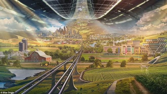 Ông chủ Amazon công bố kế hoạch bí mật xây căn cứ vũ trụ cho cả nghìn tỉ người: Tuyệt đẹp, ai cũng sẽ muốn ở - ảnh 7