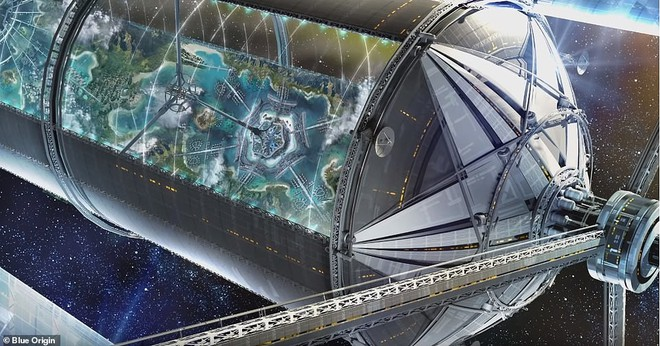 Ông chủ Amazon công bố kế hoạch bí mật xây căn cứ vũ trụ cho cả nghìn tỉ người: Tuyệt đẹp, ai cũng sẽ muốn ở - ảnh 4