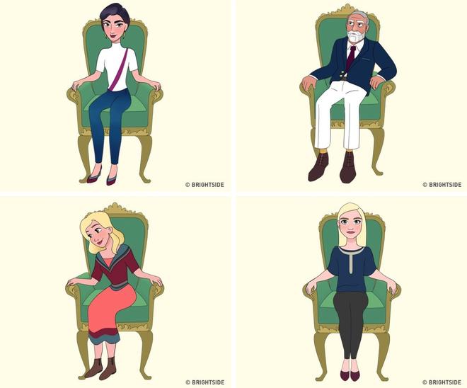 Cách bạn ngồi lên chiếc ghế này sẽ cho biết con người thực sự của bạn như thế nào - ảnh 1