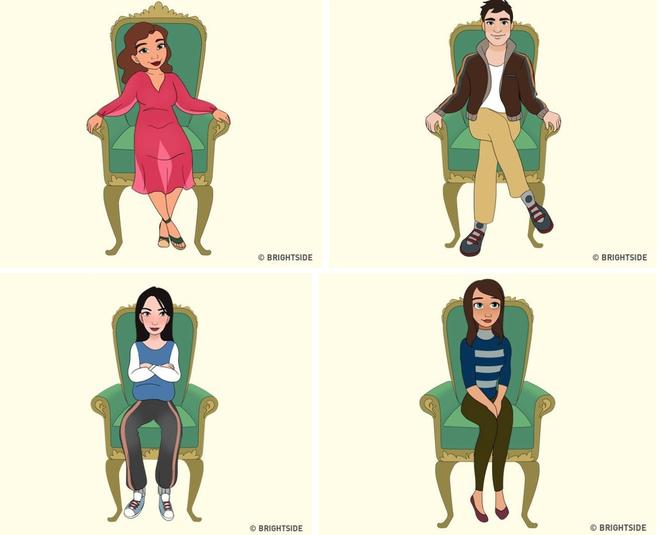 Cách bạn ngồi lên chiếc ghế này sẽ cho biết con người thực sự của bạn như thế nào - ảnh 2
