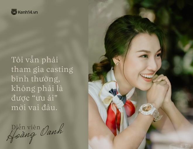 Hoàng Oanh: Năm 18 tuổi từng bỏ vai có cảnh nóng của anh Victor Vũ để giữ lấy tình yêu - ảnh 2
