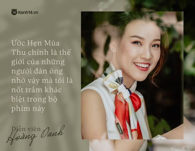Hoàng Oanh: Năm 18 tuổi từng bỏ vai có cảnh nóng của anh Victor Vũ để giữ lấy tình yêu - ảnh 1