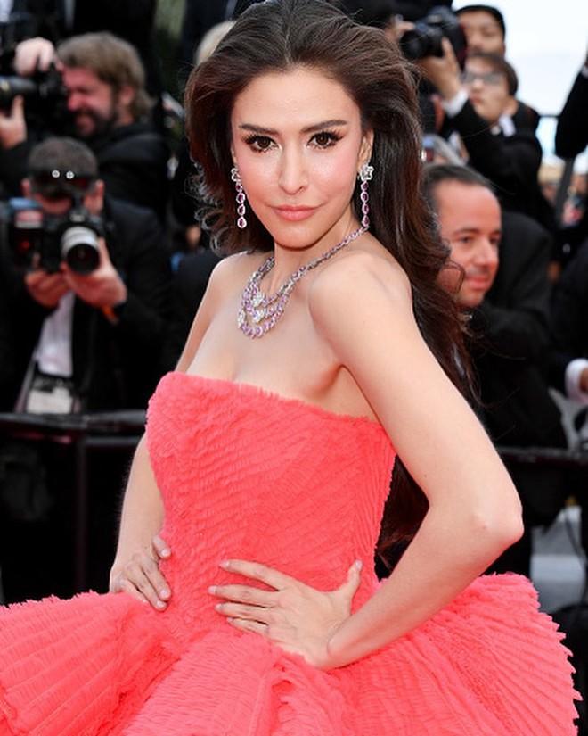 Người đẹp lai trong chiếc đầm đỏ xứng danh là tuyệt tác trên thảm đỏ Cannes ngày 2 - ảnh 6
