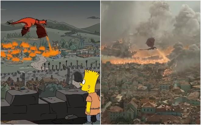 2 năm trước, hoạt hình Simpons đã tiên tri được cú twist lộn mèo của Game Of Thrones mùa cuối? - ảnh 1