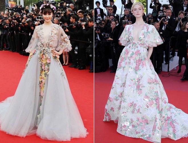 """Elle Fanning thành tiên nữ đẹp hơn hoa tại Cannes, nhưng netizen xứ Trung lại chỉ nhớ đến """"hoa tiên tử"""" Phạm Băng Băng ngày nào - ảnh 10"""