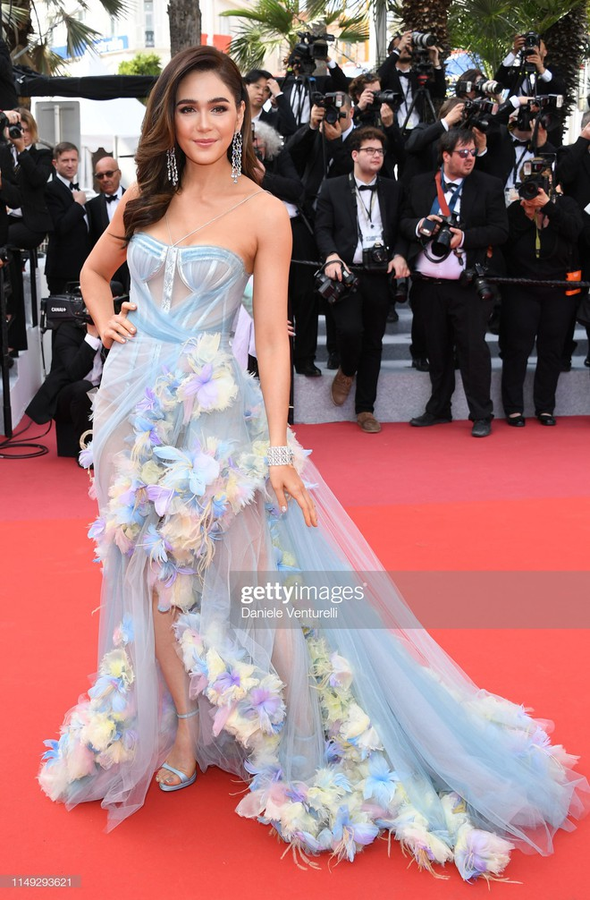 Thảm đỏ Cannes ngày 2: Thiên thần Victoria's Secret suýt lộ hàng, Phạm Băng Băng Thái Lan xinh như tiên tử - ảnh 9