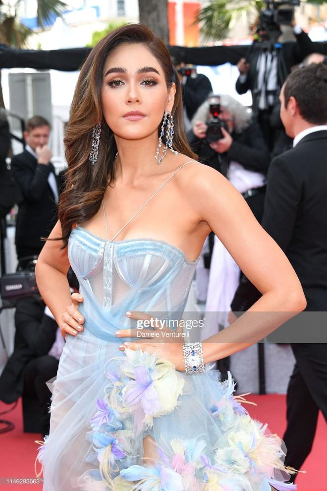 Thảm đỏ Cannes ngày 2: Thiên thần Victoria's Secret suýt lộ hàng, Phạm Băng Băng Thái Lan xinh như tiên tử - ảnh 7