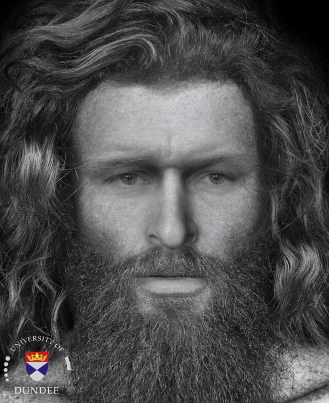 Tái tạo thành công gương mặt nạn nhân của một vụ giết người man rợ từ bộ xương 1400 năm tuổi - ảnh 2
