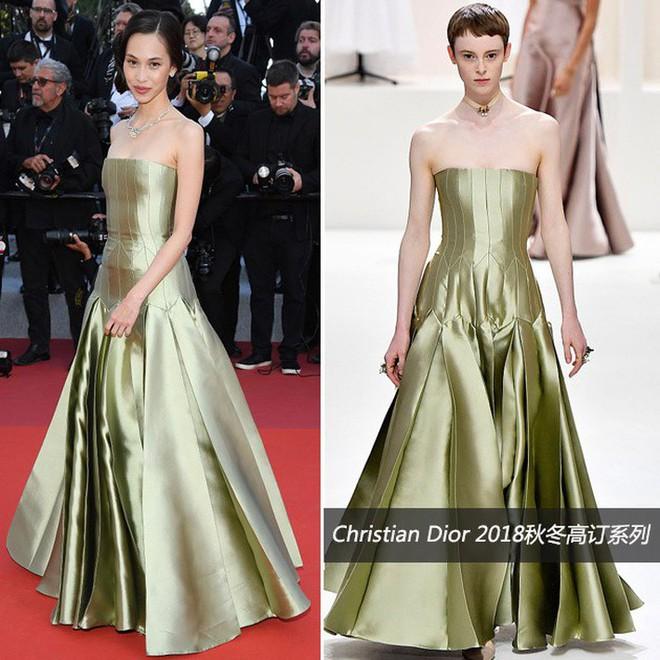 O ép cũng không mặc đẹp bằng ngực lép: Không tin bạn cứ nhìn Cảnh Điềm và tình cũ của G-Dragon tại LHP Cannes 2019 - ảnh 5