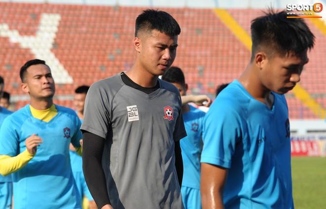 Cầu thủ Hải Phòng nhí nhảnh trên sân tập trước cuộc so tài với CLB Thanh Hóa - ảnh 5