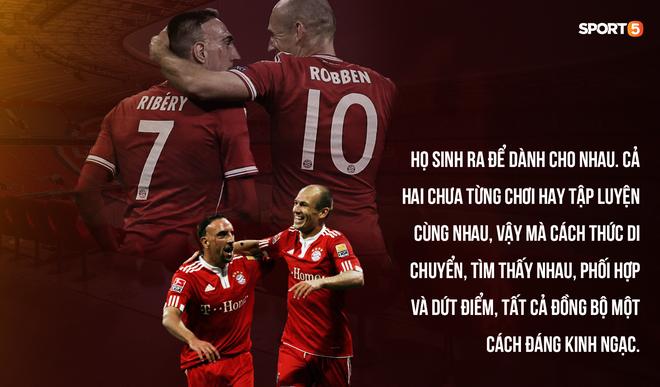 Robben - Ribery: Khi người ta sinh ra để dành cho nhau - ảnh 1