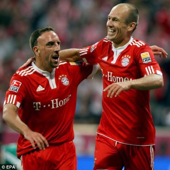 Robben - Ribery: Khi người ta sinh ra để dành cho nhau - ảnh 2