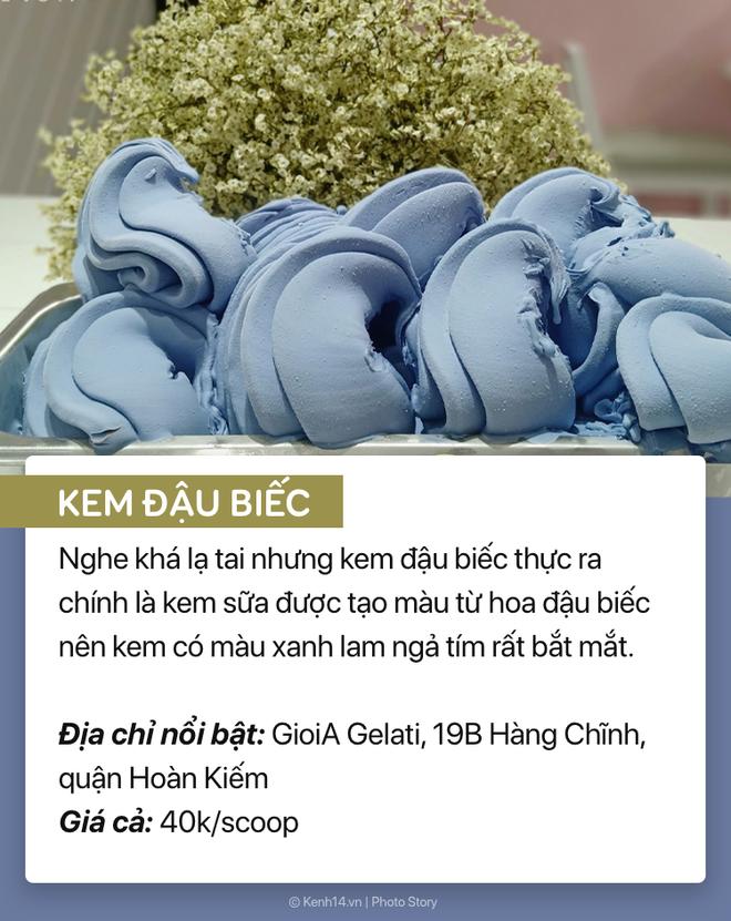 Phá đảo ngày hè Hà Nội 38 độ cùng 1001 loại kem kỳ quặc lạ tai lạ miệng - Ảnh 7.