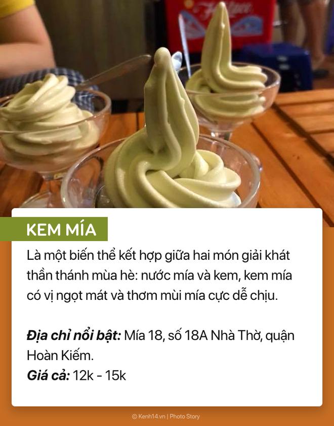 Phá đảo ngày hè Hà Nội 38 độ cùng 1001 loại kem kỳ quặc lạ tai lạ miệng - Ảnh 3.
