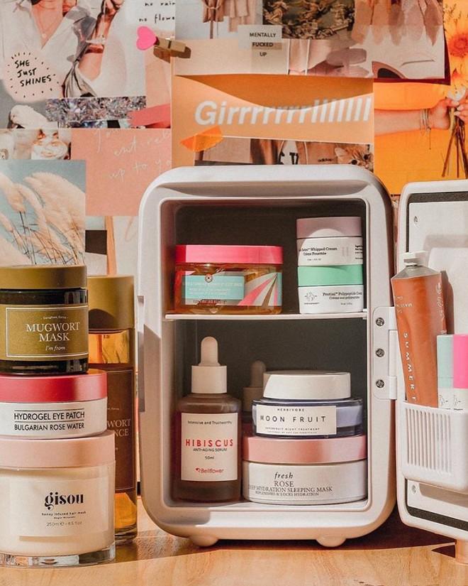 Sắm tủ lạnh mini dành riêng cho đồ skincare đang là hot trend và đây là lý do bạn nên theo xu hướng quý tộc này - ảnh 3