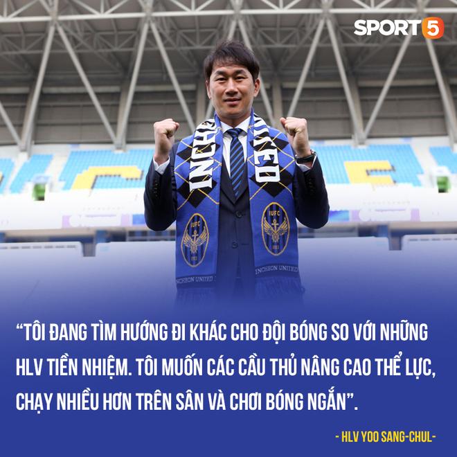 Tân HLV Incheon United cấm tiệt bóng dài, Cộng Phượng có mừng thầm? - ảnh 1