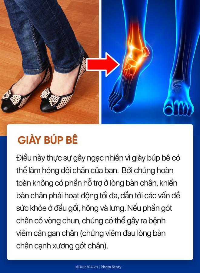 Hóa ra những đôi giày, dép thân quen này lại ảnh hưởng nhiều đến sức khỏe bạn đến vậy - ảnh 2