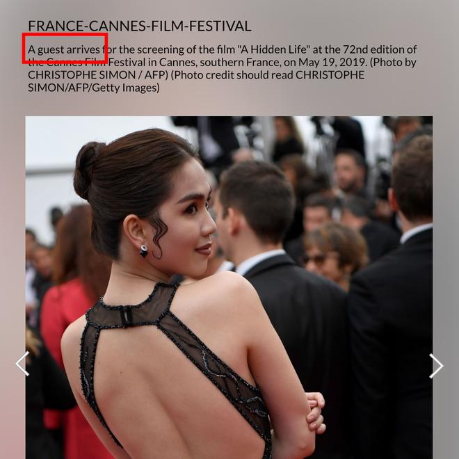 Ngọc Trinh là ai giữa LHP Cannes: Bị nhiếp ảnh quốc tế gắn mác vị khách vô danh, thậm chí nhầm hẳn sang mỹ nhân Cbiz - ảnh 2