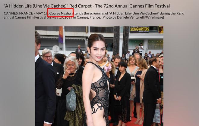 Ngọc Trinh là ai giữa LHP Cannes: Bị nhiếp ảnh quốc tế gắn mác vị khách vô danh, thậm chí nhầm hẳn sang mỹ nhân Cbiz - ảnh 3