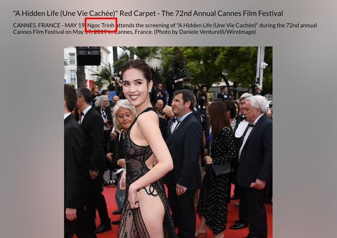 Ngọc Trinh là ai giữa LHP Cannes: Bị nhiếp ảnh quốc tế gắn mác vị khách vô danh, thậm chí nhầm hẳn sang mỹ nhân Cbiz - ảnh 4