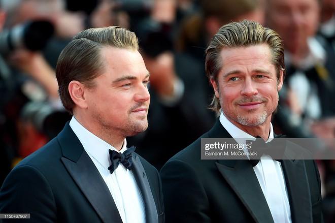 Thảm đỏ Cannes nóng lên từng phút: Brad Pitt - Leonardo lịch lãm ná thở, Chương Tử Di khoe vòng một giành spotlight - Ảnh 1.