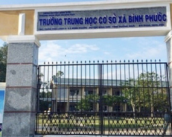 Vô cớ đánh học sinh, thầy giáo ở Quảng Ngãi bị chẩn đoán mắc bệnh tâm thần - ảnh 1