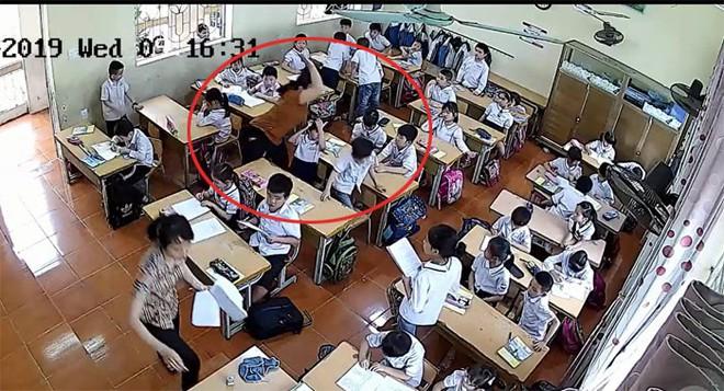 Hai cô giáo đánh hàng loạt học sinh ở Hải Phòng: Kỷ luật Hiệu trưởng - ảnh 1