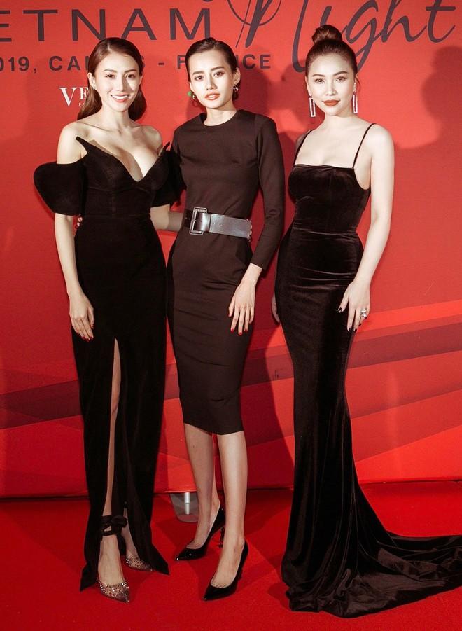 Ngọc Trinh xuất hiện gợi cảm, chọn mốt hở trên kín dưới sau màn khoe thân cực sốc trên thảm đỏ Cannes - ảnh 5
