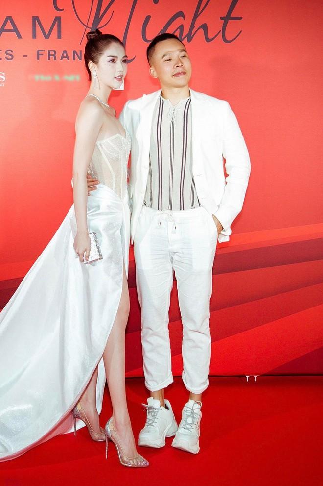 Ngọc Trinh xuất hiện gợi cảm, chọn mốt hở trên kín dưới sau màn khoe thân cực sốc trên thảm đỏ Cannes - ảnh 4